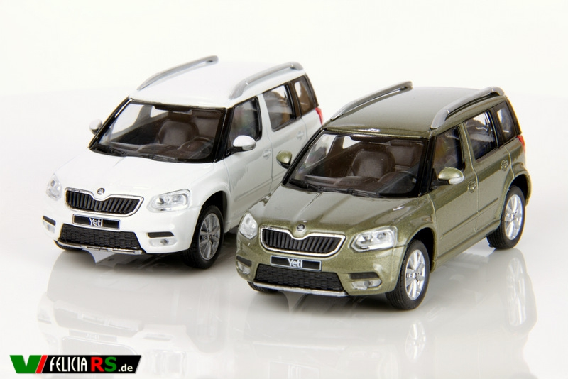 Škoda Yeti City Candy White, Jungle Green