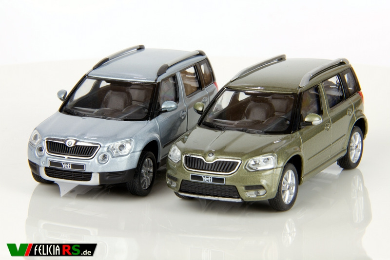 Škoda Yeti & Yeti Facelift City