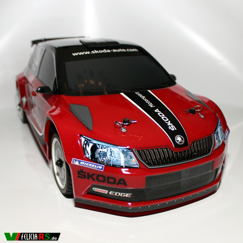 Škoda Fabia R5 RC 1:10 Monte Carlo Design